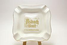 German Brandy Advertising Ashtray ASBACH URALT - Thomas Germany