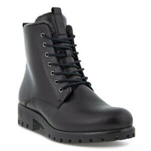 Ecco Modray Stiefelette Boots Stiefel Damen Schnürstiefel Leder 490053-01001