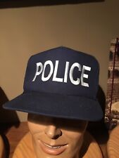 Official Generic Police Ball Cap