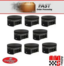 GM CHEVY LS LS2 LQ4 LQ9 6.0L 2002-2008 OEM FLAT TOP PISTONS SET 8 4.00 BORE SIZE