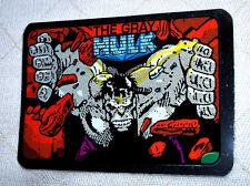 "MARVEL SUPER HEROES ""HULK"" (GRAY HULK) FOIL VENDING MACHINES STICKER VINT 1990's"