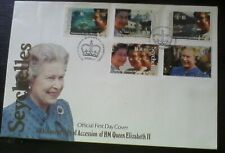 First day of issue, 1992 Seychelles , 40th Annv Accession of HM QEII