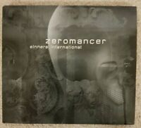 ZEROMANCER Sinners International 2009 Digipak AUDIO CD Industrial Rock Neuwertig