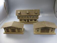 H0 : 2 vieux Maisons en carton Type de construction R&S,Spitaler Creglinger ,