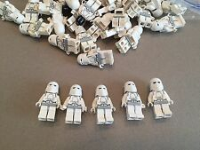 LEGO Star Wars Snow Trooper Lot of 5 minifigure minifigs Clone
