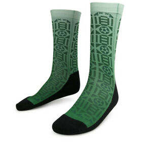 Sockatines Men's Futbolito Lifestyle Sock White/Black/Green STINESFTBLITO