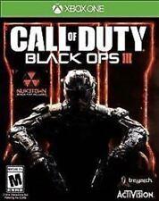 Call of Duty Black Ops III 3 RE-SEALED Microsoft Xbox One 1 XB XB1 COD BO3 BOIII