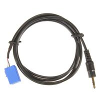 Aux In Input Adapter Interface Cable For Blaupunkt Car Radio Ipod Mp3 3.5Mm A6M6