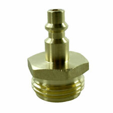 RV Blow Out Plug Quick Connector Waterline Winterizing Air Compressor Brass