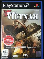 PS2 Conflict Vietnam Inc Manual