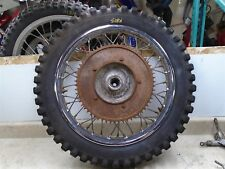 Greeves 360 MX4 Challenger Scrambler Vintage Used Rear Wheel 1967 WD RB-73