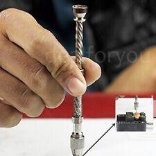 Aluminum Semi-Automatic Mini Micro Manual Hand Chuck Twsit Drill Bit 0.5-3.2mm