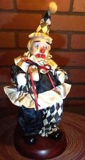 "Porcelain Clown Music Box - Price Products - 14"" - Life is a Carbaret"