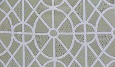 "Sanderson Curtain Fabric Design ""garden Plan"" 1 Metre Garden Blue"