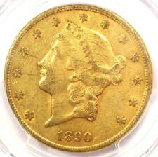 1890-CC Liberty Gold Double Eagle $20 - PCGS XF Details (EF) - Carson City Coin!