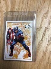 2014 Marvel Universe Captain America Promo Card P-1