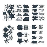 Weihnachten Karten Handwerk Metall Stencil Dies Scrapbooking Fotopapier Handwerk