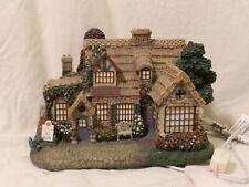 Thomas Kinkade Lamplight village Tea Room #F4961 Hawthorne Village