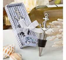 1 Nautical Themed Anchor Anniversary Birthday Wedding Wine Bottle Stopper