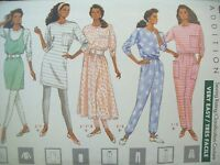 Butterick Pattern 4471 Dress Top Jumper Skirt Pants Leggings Size 6-10 UC/FF NOS