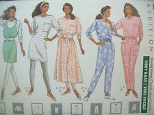 Dress, Top, Jumper, Skirt, Pants Leggings Butterick Pattern 4471 Size 6-10 UC FF