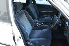 VGC: GENUINE TOYOTA CRESSIDA FRONT & REAR SEATS - BLUE - MX83 - 1988-1992