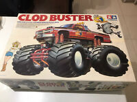 tamiya vintage Clod Buster Rare Chevy Bowtie First Addition Kit NO 5865