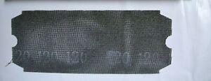 Drywall Sanding Screens, 120 Grit, SIA, BULK,  50pc