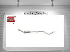 Auspuff Peugeot 307 1.6 16V Kombi Mittelschalldämpfer 80KW