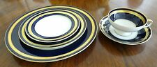 Rosenthal Eminence Cobalt Five (5) Piece Place Setting (4 Available)