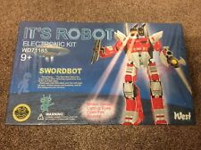 IT'S ROBOT ELECTRONIC KIT SWORDBOT WD71185 NEW SEALED