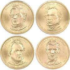2010 P $1 Presidential Dollar 4 Coin Set Uncirculated Mint State