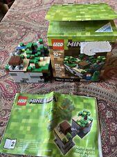 LEGO MINECRAFT MICRO WORLD-480 PCS 21102 AGES 10+