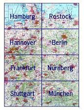 1350 ICAO-Karte Deutschland 2017   Nur für Übungszwecke zu verwenden !