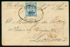 Horta 1884 cover/Azores 1882-5 50r/CORREIO DA HORTA