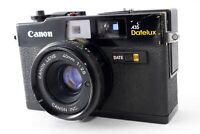 Canon A35 Datelux 40mm f/2.8 35mm Film Rangefinder Camera From Japan[For parts]
