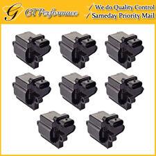 OEM Quality Ignition Coil 8PCS Set for Cadillac Chevrolet GMC Hummer Isuzu V8