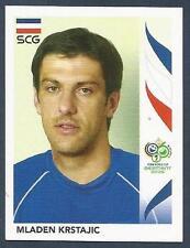PANINI FIFA WORLD CUP-GERMANY 2006- #212-SERBIA & MONTENEGRO-MLADEN KRSTAJIC