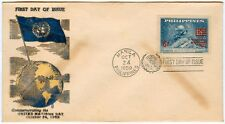 Philippine 1959 Commemorating The United Nation Day FDC