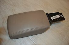 2005-2006 NISSAN ALTIMA CENTER CONSOLE ARM REST BROWN LID COVER ASSEMBLY LEATHER