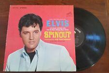 SPINOUT ELVIS PRESLEY OG VINYL STEREO RCA 1966 LSP-3702 BLK LABEL OG INNER - VG+