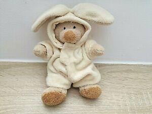 NICOTOY? C&A Bär Teddy im Hasenkostüm  Schmusetier Kuscheltier Stofftier