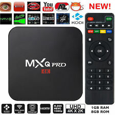 MXQ Pro Android TV Box S905X 4K Digital TV Streaming Box Quad Core Android 6.0@