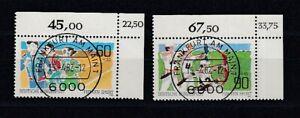 Fédéral 1127/8 Sport Kbwz Timbre à Date Francfort (MNH)