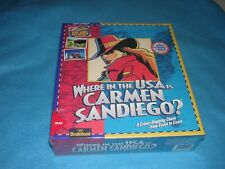 Where in the USA is Carmen Sandiego? New in Box