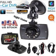 "1080P 2.7"" HD LCD Night Vision Stereo Car Dash Camera Video DVR Cam Recorder US"