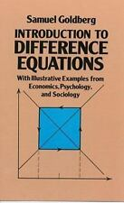 Dover Books on Mathematics: Introduction to Difference Equations : With...