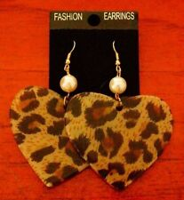Lucite Silver Plated Fashion Earrings