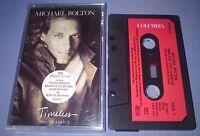 MICHAEL BOLTON TIMELESS PAPER LABELS cassette tape album T6229