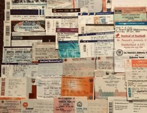 x 100 Football Tickets Collection